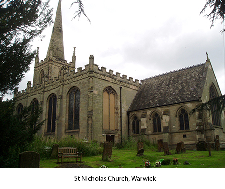 Image result for st nicholas church warwick
