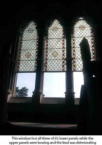 Bryngwyn Manor Ark Stained Glass Amp Leaded Lights